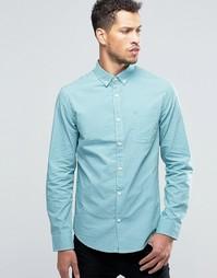 Рубашка слим в клеточку Original Penguin - Синий