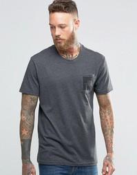 Серая футболка с логотипом на кармане The North Face - Серый