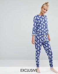Пижамный комплект Chelsea Peers - Синий