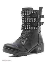 Черные Ботинки Aquamarin