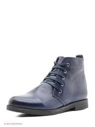 Синие Ботинки Makfly