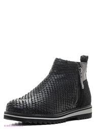 Черные Ботинки Jana