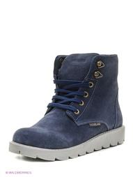 Синие Ботинки WOODLAND