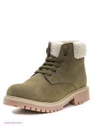 Зеленые Ботинки WOODLAND