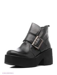 Черные Ботинки Almare