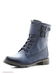 Синие Ботинки INARIO
