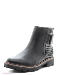 Черные Ботинки Marco Tozzi