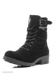 Черные Ботинки El Tempo