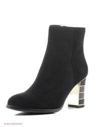 Черные Ботинки BRAVO