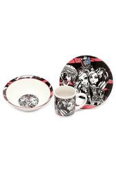 Набор керамической посуды Monster High