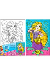 Роспись по холсту «Рапунцель» Disney принцессы