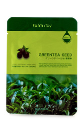 "Массажный крем ""Зеленый чай"" FARMSTAY"