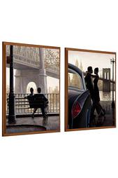Панно-диптих, комплект 2 шт. Bilder Manufaktur