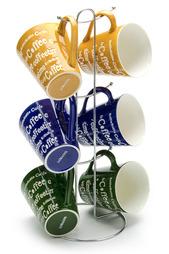 Набор чашек на подставке 7 пр. LORAINE