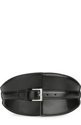 Корсетный кожаный ремень Alexander McQueen