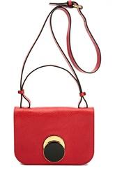 Кожаная сумка Pois Marni