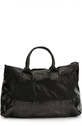 Кожаная дорожная сумка с лямкой на плечо OXS rubber soul