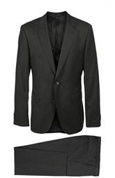 Шерстяной костюм с пиджаком на двух пуговицах HUGO BOSS Black Label