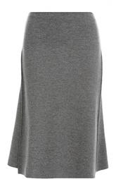 Шерстяная юбка-миди асимметричного кроя Stella McCartney