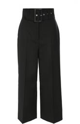Укороченные брюки с завышенной талией и широким поясом Givenchy