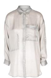 Удлиненная блуза с накладным карманом Zadig&Voltaire Zadig&Voltaire
