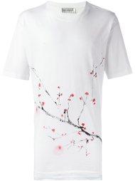 футболка с принтом ветки сакуры Faith Connexion