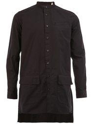 удлиненная рубашка  Wooster + Lardini