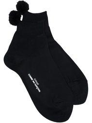 носки с помпонами Comme Des Garçons Tricot