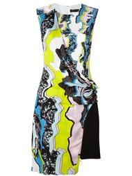 асимметричное платье с запахом 'Jagged Baroque' Versace