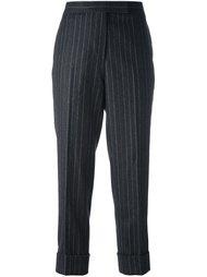 классические шерстяные брюки с лямкой сзади Thom Browne