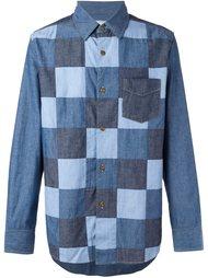 лоскутная джинсовая рубашка Ganryu Comme Des Garcons