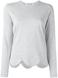 футболка с волнистым подолом Comme Des Garçons Comme Des Garçons