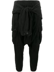 брюки-карго с декоративной рубашкой Faith Connexion