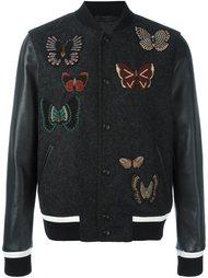 куртка бомбер 'Rockstud' с вышивкой Valentino