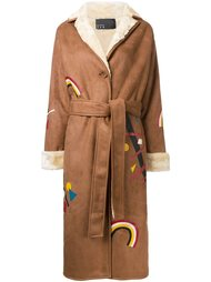 пальто с принтом радуг N Duo