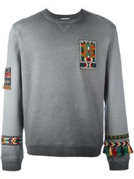 'Jamaica' embroidered sweatshirt Valentino
