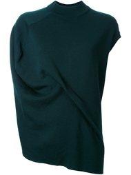 асимметричная футболка с драпировкой Enföld