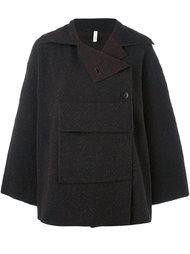 concealed fastening oversized jacket Boboutic