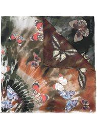 платок 'Tie&Dye Jamaican Butterfly' Valentino