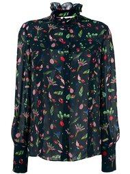 блузка с цветочным принтом Steve J & Yoni P