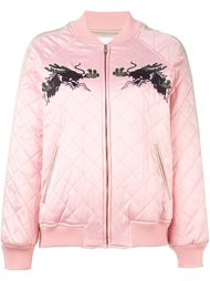 куртка-бомбер с вышивкой Steve J & Yoni P