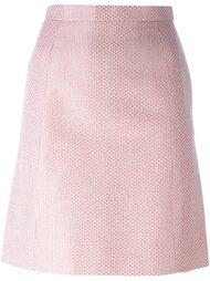 юбка с узором Chanel Vintage