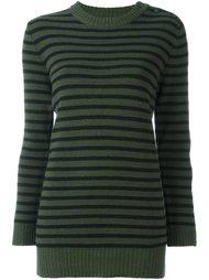свитер в полоску Mm6 Maison Margiela