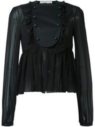 прозрачная блузка  Francesco Scognamiglio