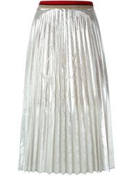 плиссированная юбка миди  Aviù