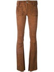 замшевые расклешенные брюки The Seafarer