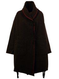 свободное пальто  Uma Wang