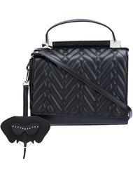 стеганая сумка-тоут  Christian Siriano