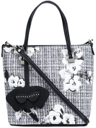 сумка-тоут с цветочным принтом Christian Siriano