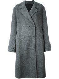 объемное двубортное пальто Alexander Wang